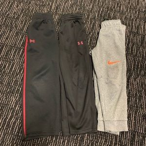 4T Under Armour and Nike Pants